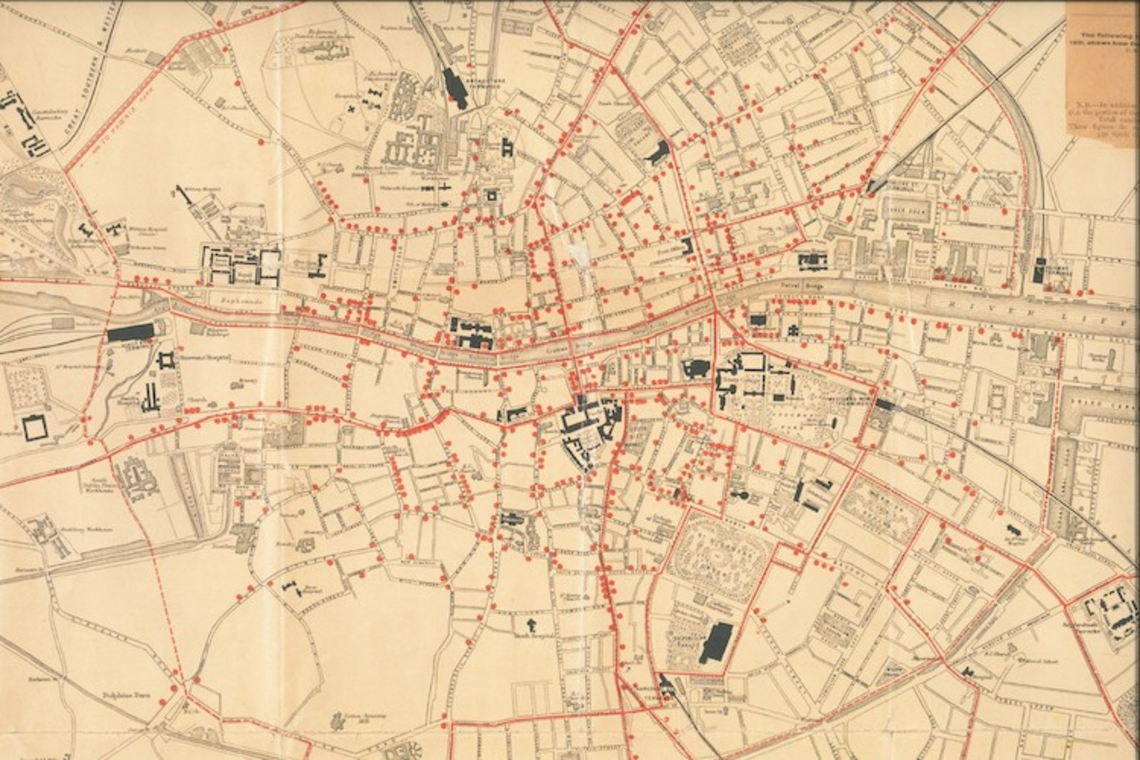 An 1892 Map Shows Dublin\'s \
