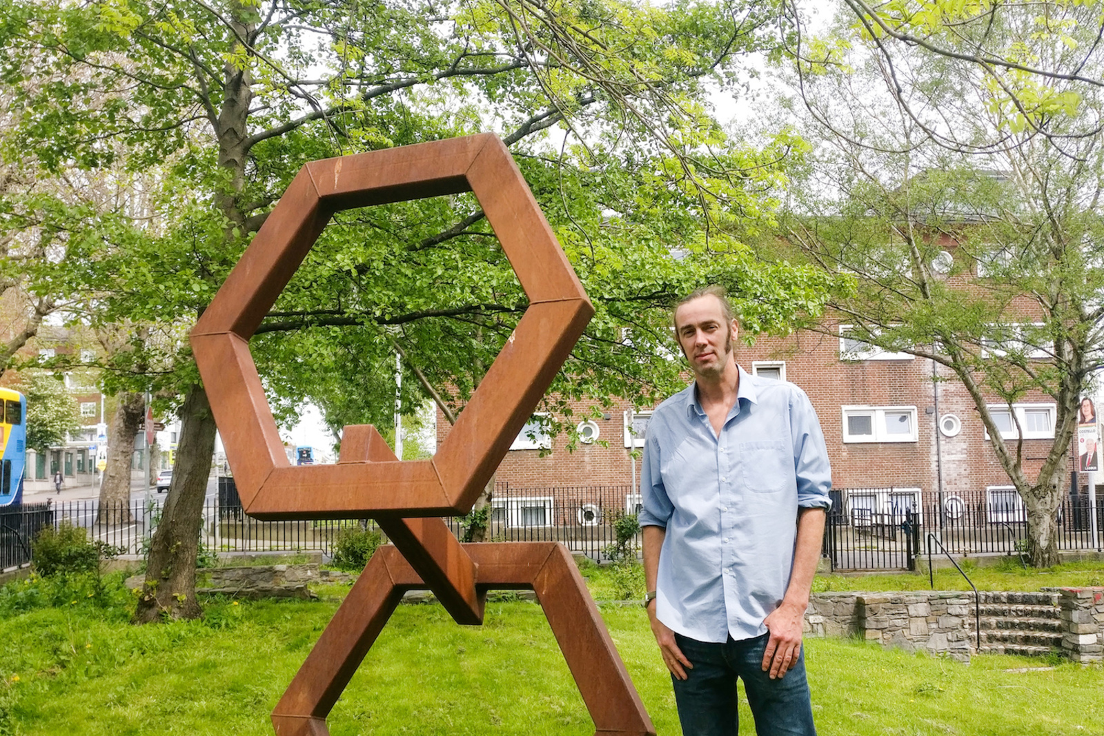 Brushing Up: The Hexagons on North Strand Road