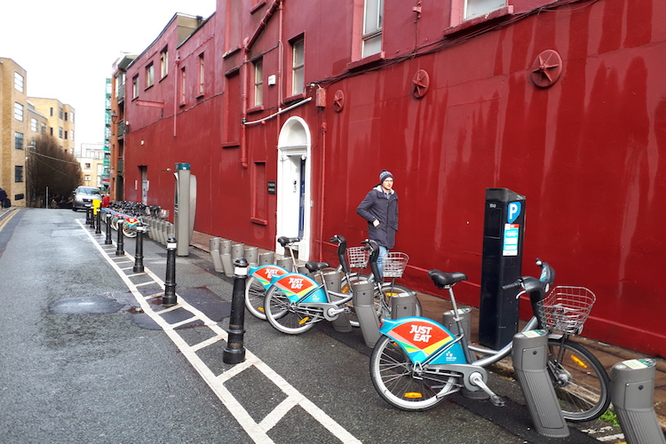 Expansion of dublin bikes scheme on hold due to funding.