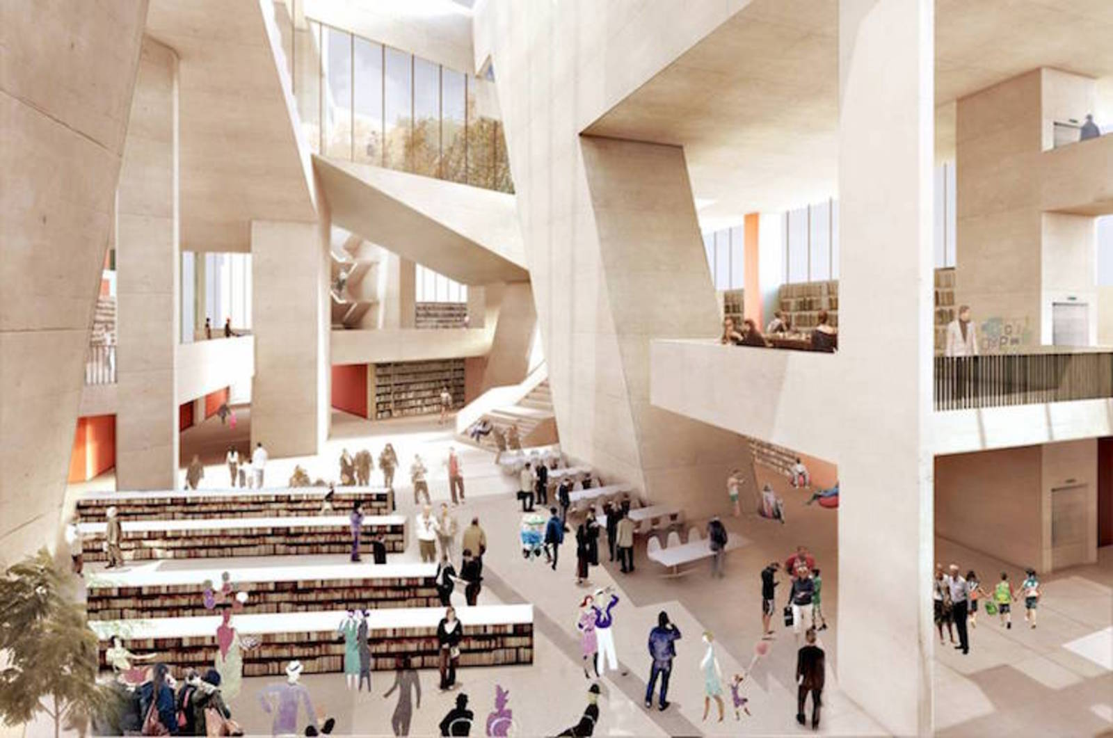 Early Designs Unveiled For New City Library On Dublin