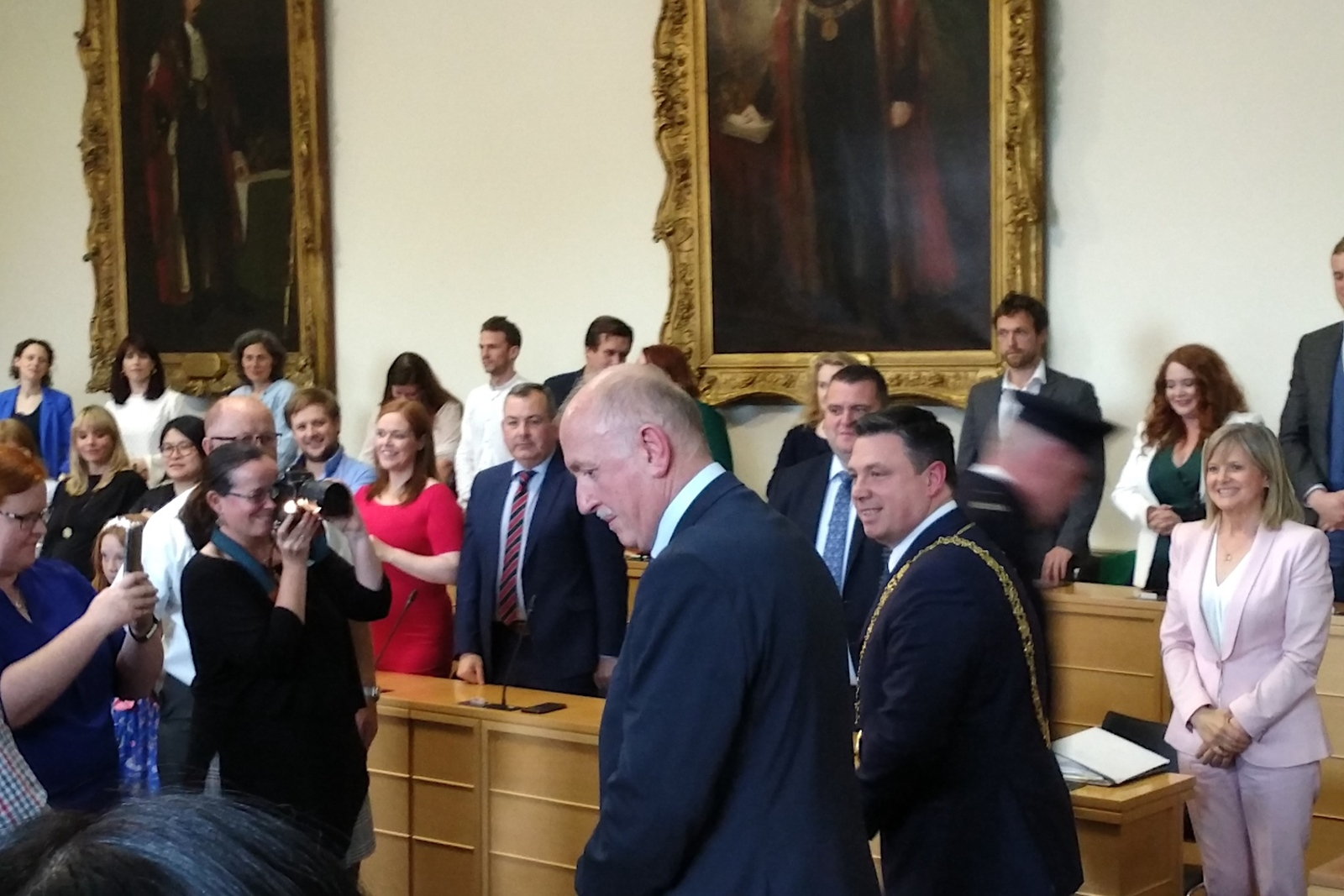 Fresh from Election, New Dublin City Councillors Take Their Seats, Lay Their Plans
