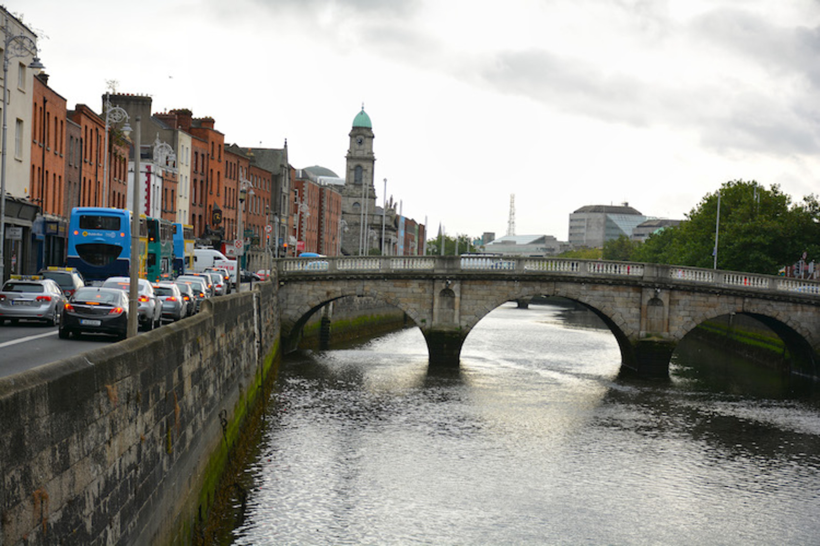 David New Option For Liffey Cycle Route Makes Good Dublin Inquirer