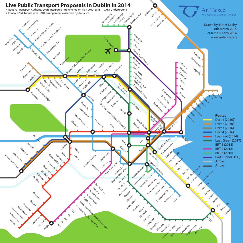 Great Dublin Transport Networks | Dublin Inquirer on