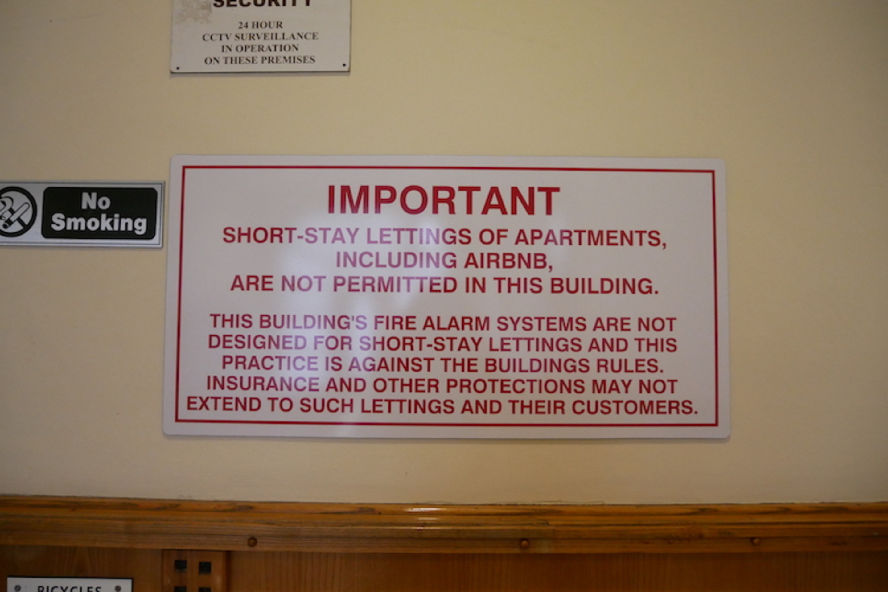 The Sign Says No Short-Term Lets, So Why Is There | Dublin Inquirer