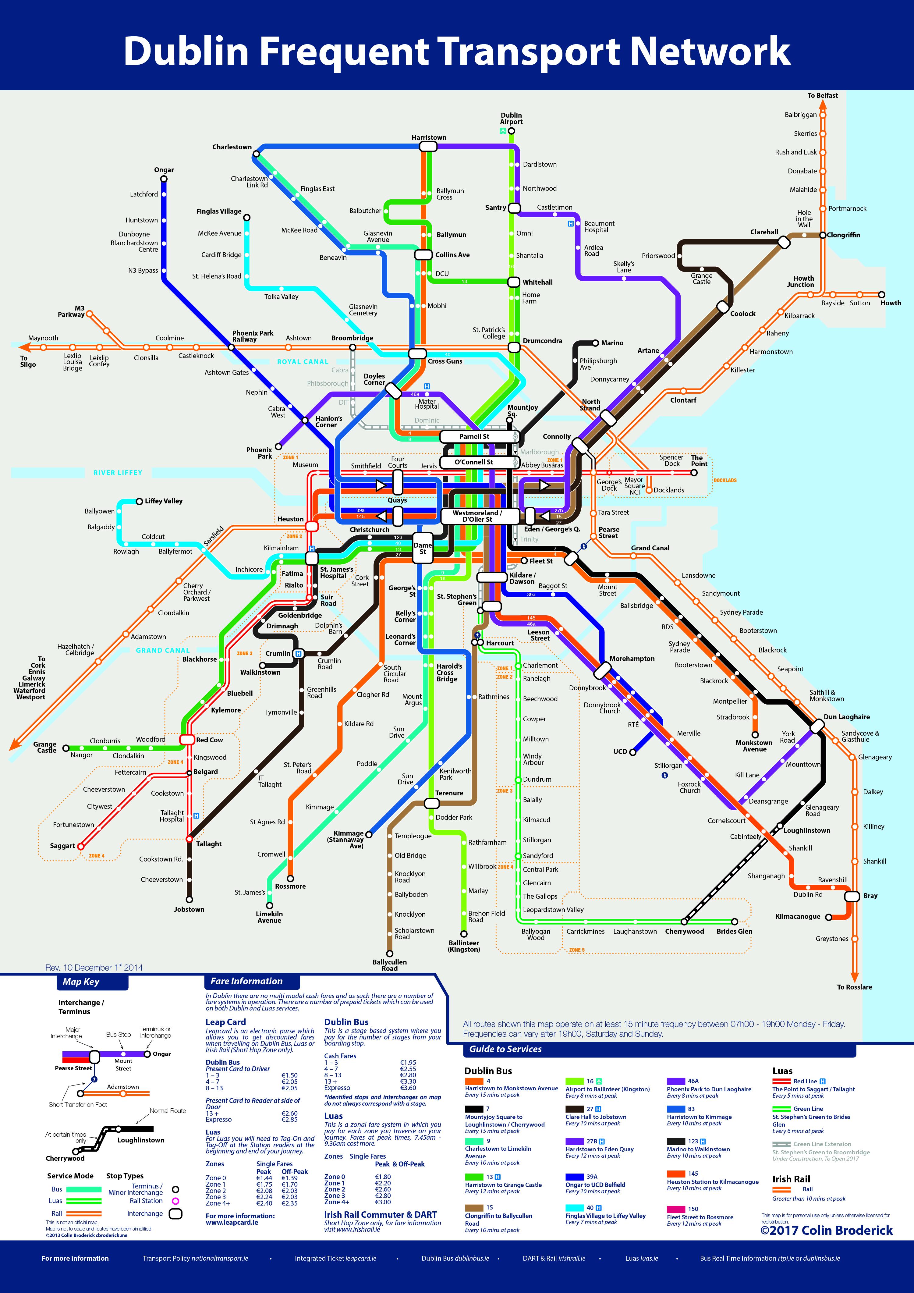 Great Dublin Transport Networks Dublin Inquirer